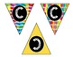 "Alphabet & Number Bunting Banner - Classroom Decor - Small ""I Like Big Books"""