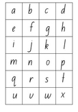 Alphabet & Number Cards