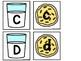 Alphabet & Number Cards Cookies & Milk  Dollar Deal