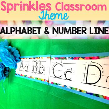 Alphabet & Number Line