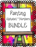 Alphabet & Number Painting BUNDLE