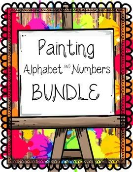 Alphabet & Number Painting BUNDLE