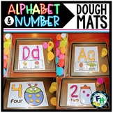 Alphabet & Number Dough Mats