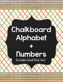 Alphabet + Number Posters