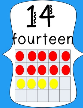 Alphabet & Number Posters (Brights & Polka Dots)