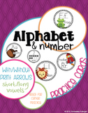 Alphabet & Number Practice Cards