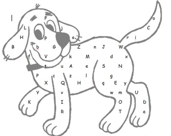 Alphabet & Number Recognition: Highlight the letter or num