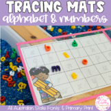 Alphabet & Number Tracing Mats - all Australian State Fonts & Primary Print