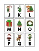 Alphabet, Number and Sight Word Pocket Chart Game (Christm