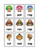 Alphabet, Number and Sight Word Pocket Chart Game (Thanksg