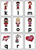 Alphabet, Number and Sight Word Pocket Chart Game (Valenti