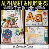 Alphabet & Numbers Bundle {Practice & Play}