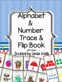 Alphabet & Numbers Trace & Flip Book