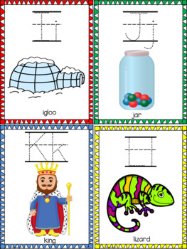 Alphabet & Numbers Trace & Flip Book