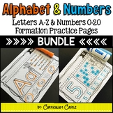 Alphabet & Numbers Trace and Find BUNDLE