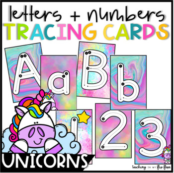 Alphabet & Numbers Tracing Cards