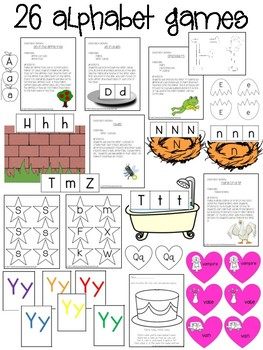 Alphabet Nursery Rhymes (Rhymes and Activities for Learning ABC's)