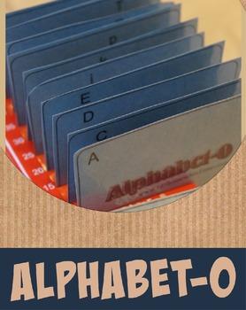 Alphabet-O (An Alphabetizing Game for K-2nd Grade)
