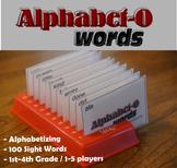 Alphabet-O Words (Alphabetizing + Sight Words)