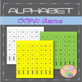 Alphabet OOPS! Game