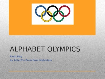Alphabet Olympics