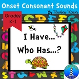 Beginning Sounds Practice Game: I Have... Who Has...? A, B, C's