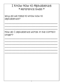 Alphabet Order - Alphabetizing Practice Bundle