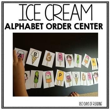 Alphabet Order Practice