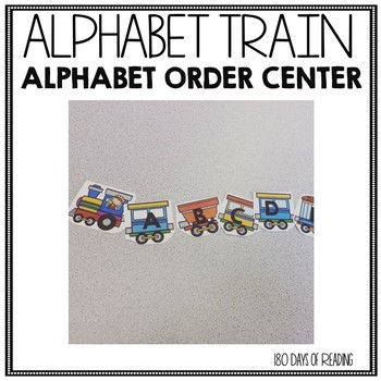 Alphabetical Order Practice for Kindergarten or Preschool