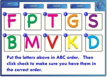 Alphabet Order and Sounds