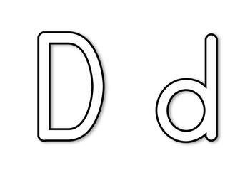 Alphabet Outline