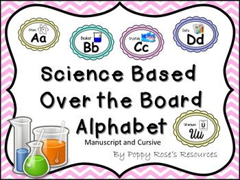 Alphabet - Over the Board Science Posters