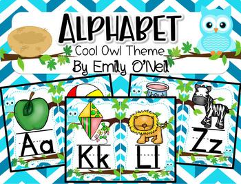 Alphabet (Owl Theme)