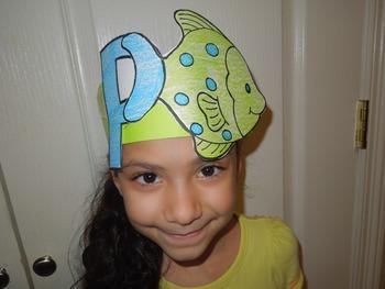"Alphabet ""P is for Pez"" Spanish hat patterns (5 versions)"