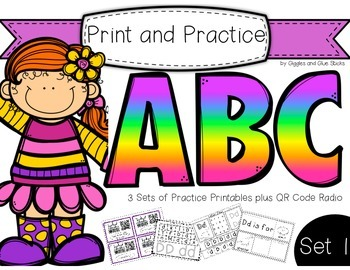 Print and Practice: ABC Set 1