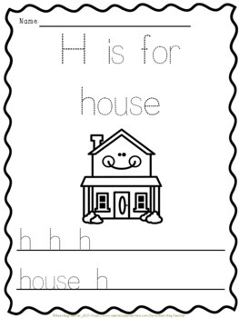 Alphabet Pack - Alphabet Activities from A to Z