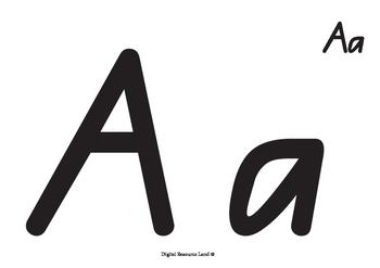 Alphabet Pack - Bold and Black Line