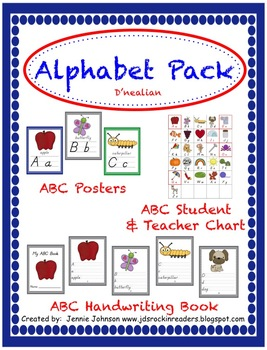 Alphabet Pack (D'nealian)