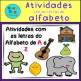 Alphabet Pack - Portuguese/ Atividades com as letras do Alfabeto em Português