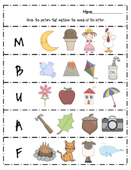 Alphabet Pack Worksheets- FREE! by First Grade Fanatics ...