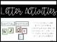 Alphabet Pack {capital, lowercase, letter formation, letter identification}