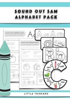 Alphabet Pack: over 300 pages of alphabet goodness