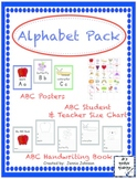 Alphabet Pack/Alphabet Line/ABC Posters/Students Handwriting Book