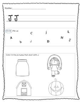 Alphabet Packet