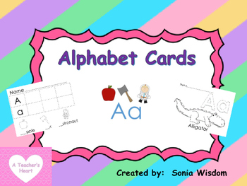 Alphabet Packet