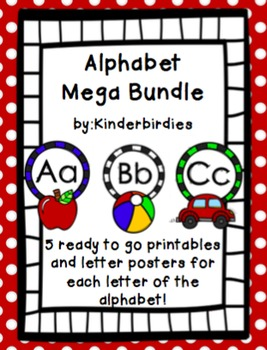 Alphabet Packet Mega Bundle
