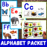 Back to School Alphabet Packet