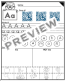 Alphabet Pages: 1st and 2nd Alphabet