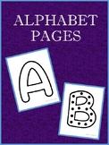 Alphabet Pages