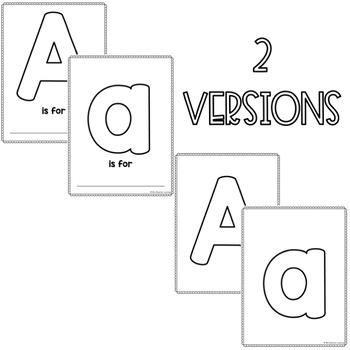 Letter Outlines